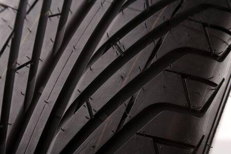 Closeup of rubber tire tread    Stock Photo - 6597083