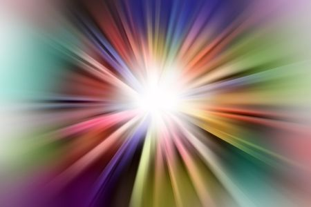 Abstract colorful blurs background photo