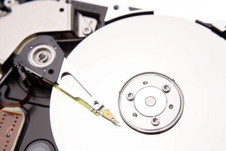 harddrive: Close-up of computer hard-drive    Stock Photo