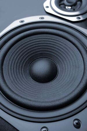 Close-up of stereo loud speakers Stock Photo - 7029900