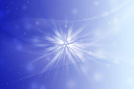 Abstract blue tone light blast background.  photo