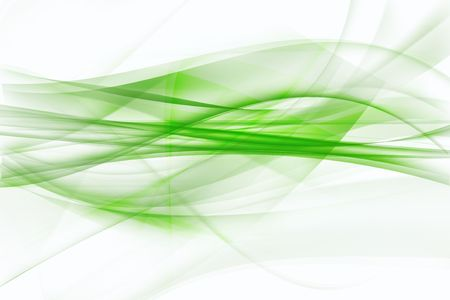 Abstract green and white background. Copy space. photo