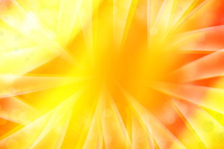 Bright yellow and orange abstract background. Copy space. Stock Photo - 7067842