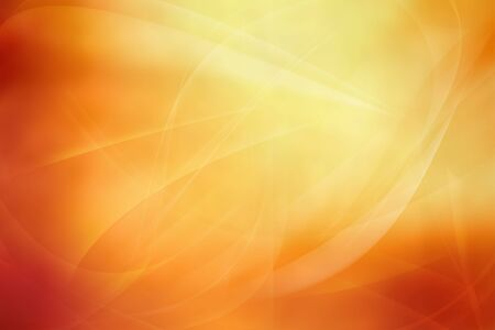 Flowing lines on abstract orange tone background Stock Photo - 7067855
