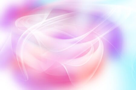 fractal pink: Abstract lines on pastel tones background