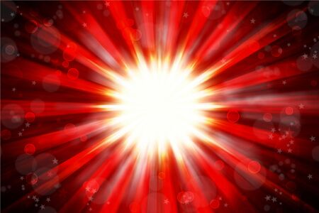 Bright blast abstract red tone background photo