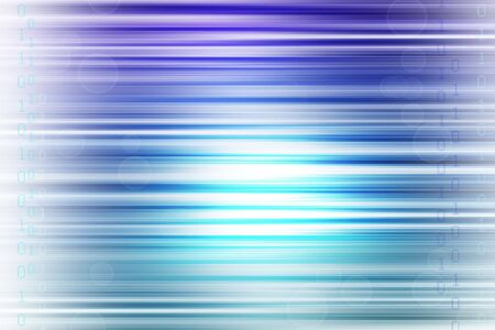 Binary codes on abstract blue tone background. Stock Photo - 7229700