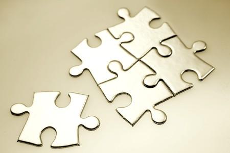 puzzle pieces: Jigsaw Puzzle-Teile
