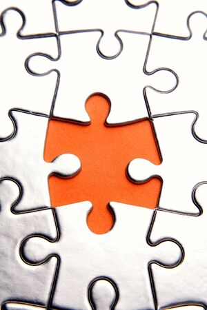 puzzle jigsaw: Piece missing from jigsaw puzzle