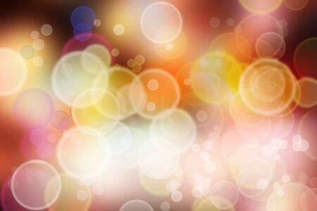 Bright abstract colorful lights background Stock Photo - 7531046
