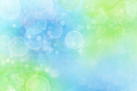 Circles on blue and green background Stock Photo - 7581824