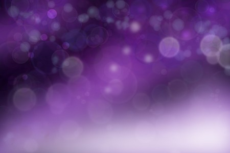 Circles on purple color background photo