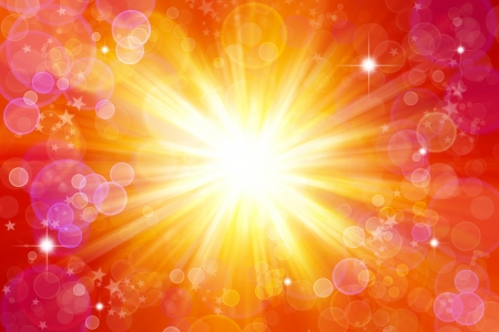 Bright blast of light background Stock Photo - 7617398