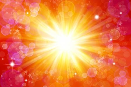 Bright blast of light background Stock Photo - 7617398