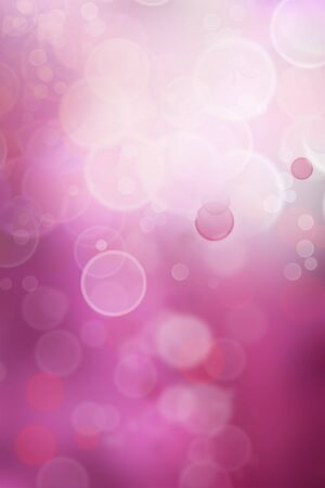 Circles on soft purple tone background photo