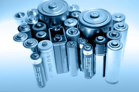 Group of batteries photo