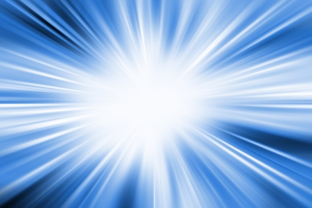 detonate: Bright abstract blue color blurred background