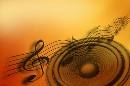 voices: Notas de orador y m�sica fuertes