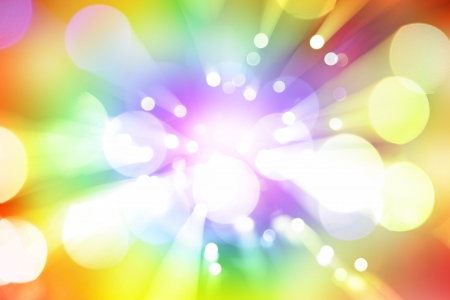Bright blast of colorful lights background photo