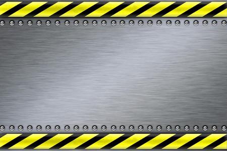 Remaches en fondo de acero de textura  Foto de archivo