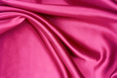 Closeup of crumpled silk fabric  Stock Photo - 7893166