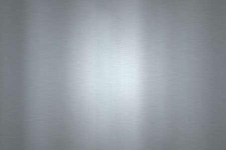Shiny stainless steel horizontal background   Stock Photo - 8077387