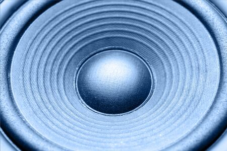 Closeup of stereo loud speaker Stock Photo - 8266148