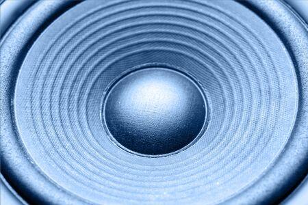 Closeup of stereo loud speaker Stock Photo - 8266148