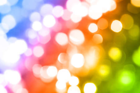 Abstract colorful blurred lights background Stock Photo - 8355279