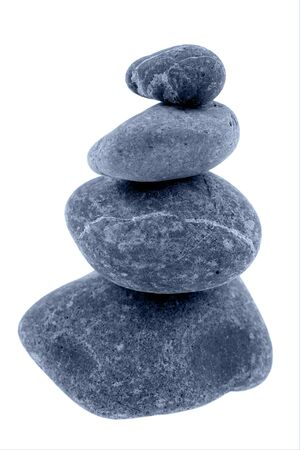 Stack of river rocks Stock Photo - 8355971