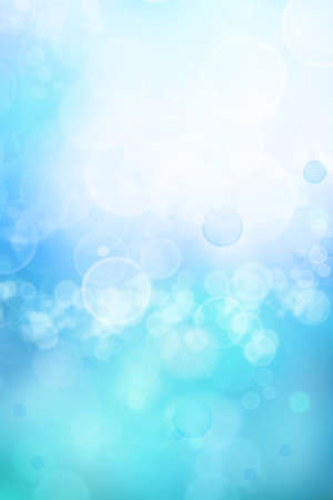 Bright abstract blue tone background. Vertical. Copy space. photo