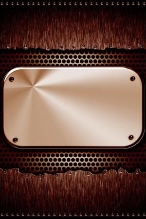 riveted: Steel plates riveted together. Vertical format