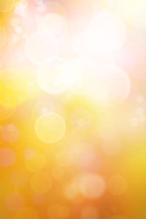 bokeh: Bright abstract warm tones background