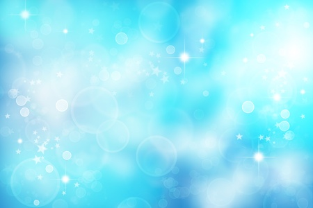 Bright abstract blue tone background photo