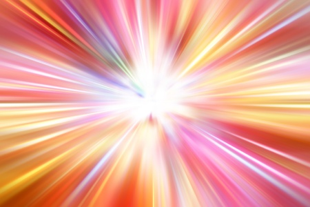 burst background: Bright blast of light streaks Stock Photo