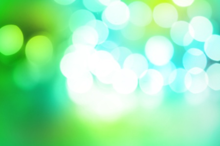 blurry lights: Blurry abstract green and blue tones background