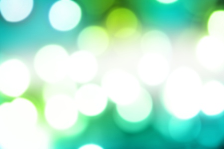 Blurry abstract green and blue tones background Stock Photo - 8752907