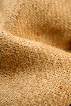 Folds in burlap hessian sacking   photo