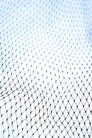 Closeup of netting  photo