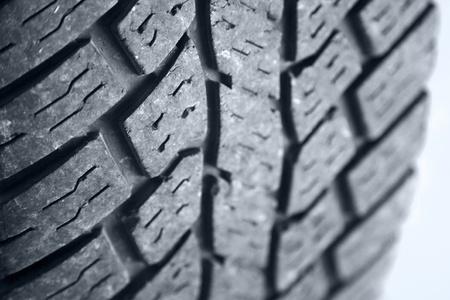 Closeup of tread on tire Stock Photo - 9005750
