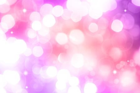 blurry lights: Luci astratte sfocate. Sfondo viola e rosa tono Archivio Fotografico