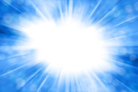 추상 파란색과 흰색 배경