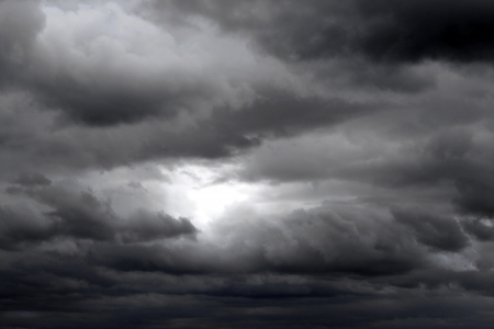 overcast: Stormy sky