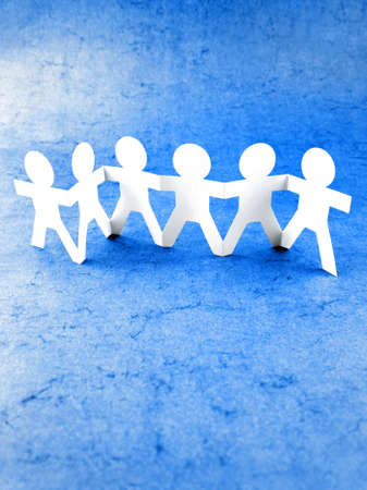 Group of people holding hands Stock Photo - 9570313