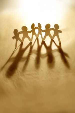 mankind: Group of people holding hands