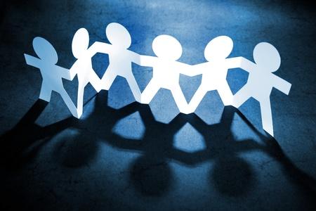 la union hace la fuerza: Grupo de personas de mano