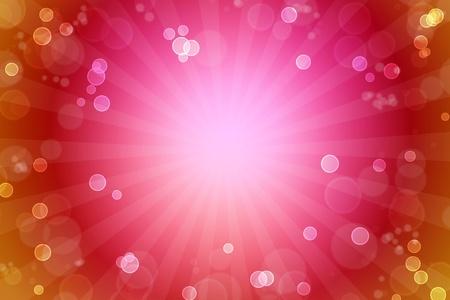 blasting: Bright pink and orange background