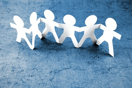 Group of people holding hands Stock Photo - 9788415