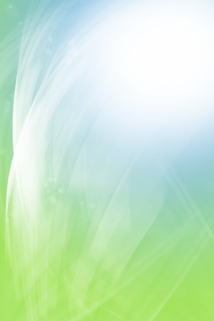 blue and green background: Green and blue blurred background Stock Photo
