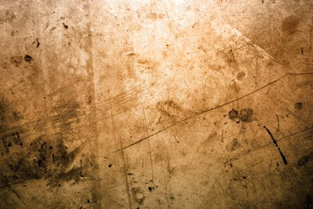 Closeup of brown grunge surface photo